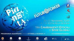 locandina di Futuro Remoto a Napoli: edizione online dedicata al nostro Pianeta