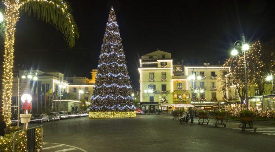 Albero di Natale a Sorrento