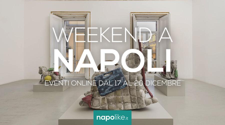 Онлайн-мероприятия в Неаполе в выходные дни с 17 по 20 декабря 2020 г.