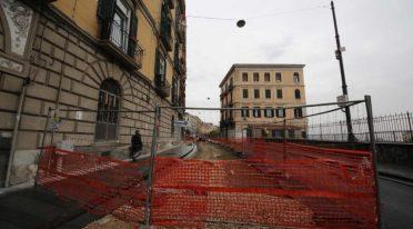 Corso Vittorio Emanuele in Neapel