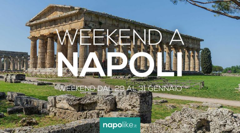 Eventos en Nápoles durante el fin de semana desde 29 hasta 31 Enero 2021