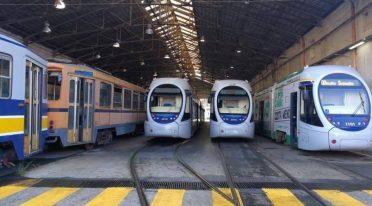 Straßenbahn in Neapel