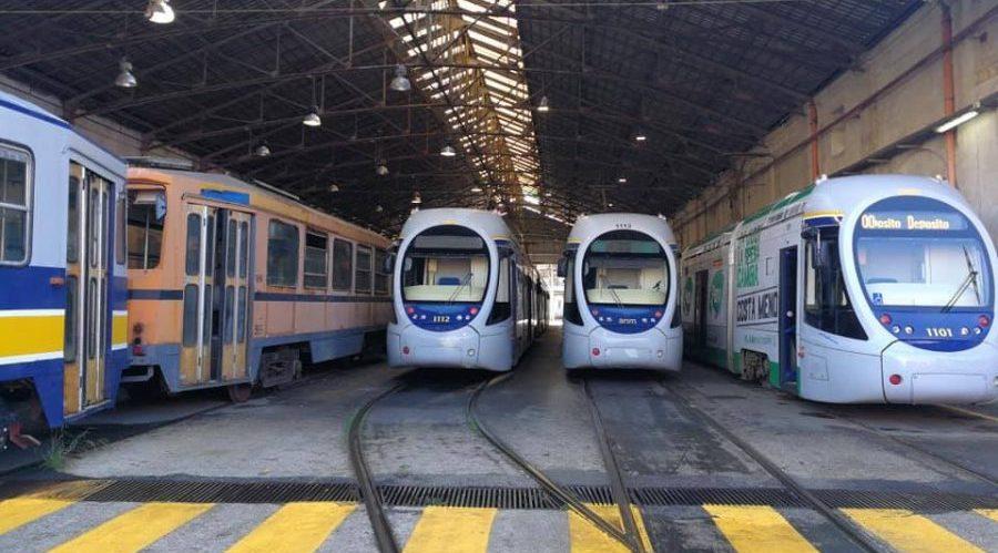Tram a Napoli