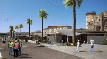 Molo Beverello-Projekt in Neapel