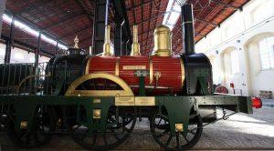 القطار في متحف Pietrarsa