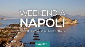 Eventi a Napoli nel weekend dal 12 al 14 febbraio 2021