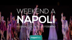 Eventi a Napoli nel weekend dal 26 al 28 febbraio 2021