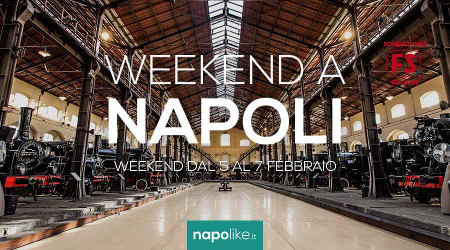 Veranstaltungen in Neapel am Wochenende von 5 zu 7 Februar 2021