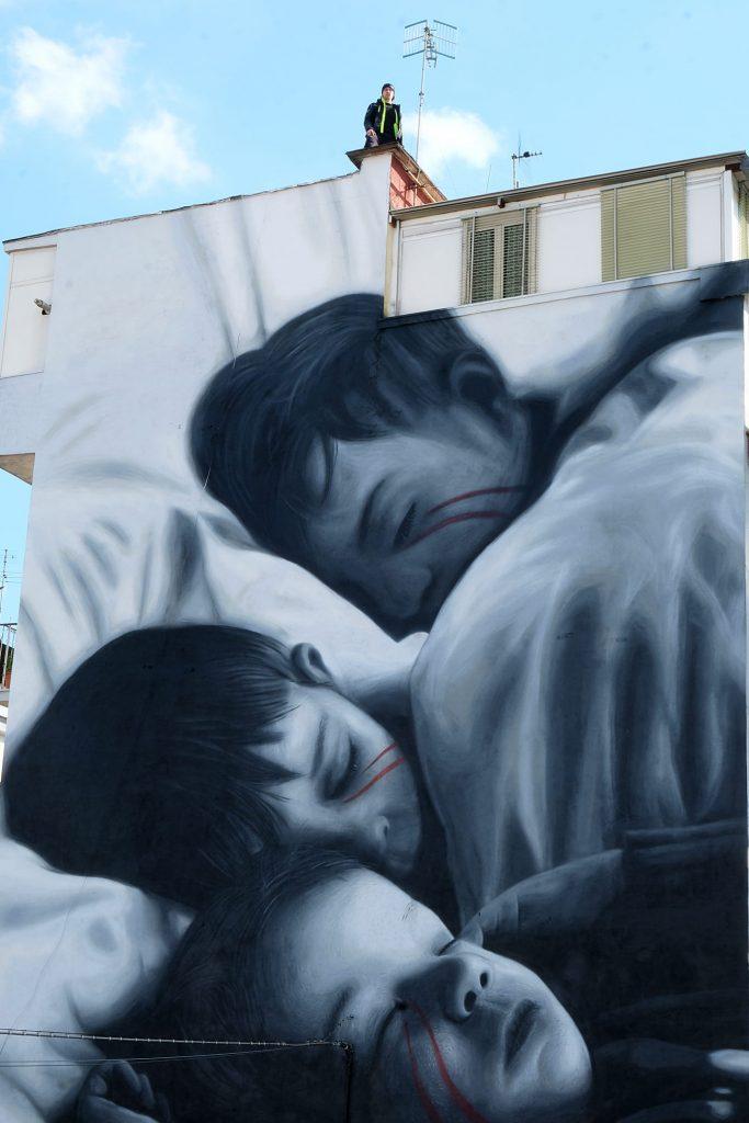 Wandbilder Träume von Jorit