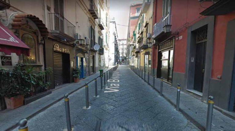 Via Bisignano in Naples