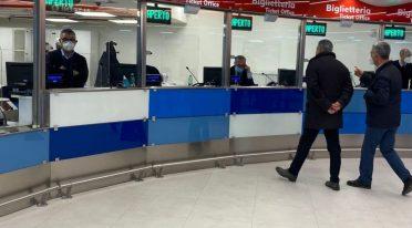 مكتب تذاكر EAV الجديد في ساحة غاريبالدي