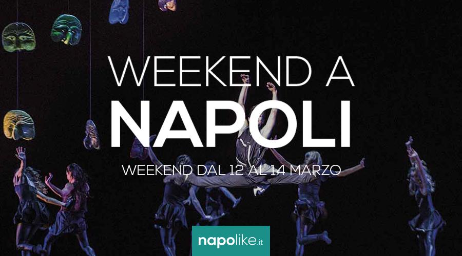 الأحداث في نابولي خلال عطلة نهاية الأسبوع من 12 إلى 14 في مارس 2021