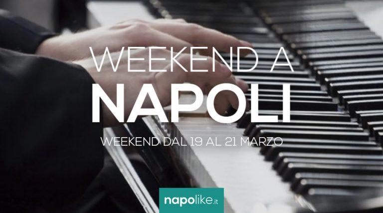 الأحداث في نابولي خلال عطلة نهاية الأسبوع من 19 إلى 21 في مارس 2021
