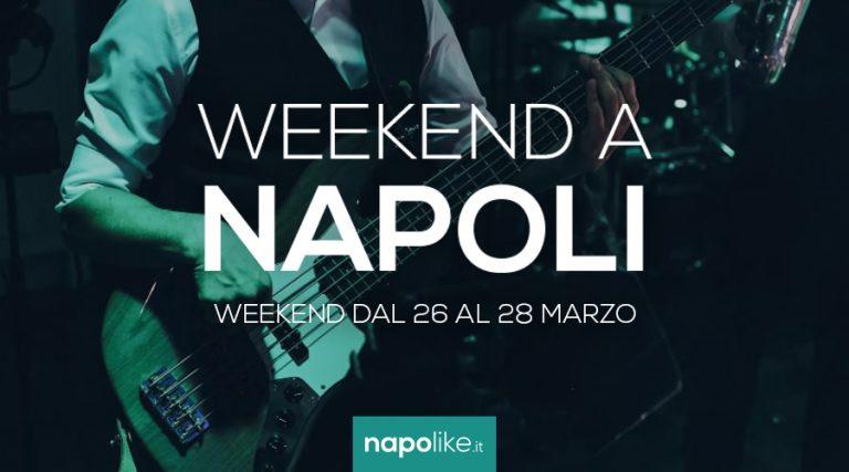 الأحداث في نابولي خلال عطلة نهاية الأسبوع من 26 إلى 28 في مارس 2021