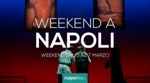 الأحداث في نابولي خلال عطلة نهاية الأسبوع من 5 إلى 7 في مارس 2021