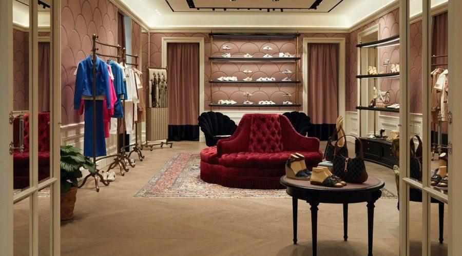 Gucci-Laden in Neapel