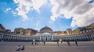 Piazza del Plebiscito a Napoli