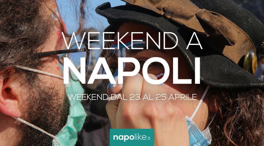Veranstaltungen in Neapel während des Wochenendes von 23 zu 25 am April 2021