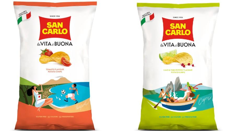 San Carlo Chips für Neapel
