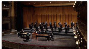 афиша пасхального концерта в театре Сан-Карло в Неаполе, онлайн-мероприятие за 2 евро