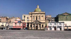 Piazza Mercato a Napoli riqualificata
