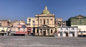 Реконструкция площади Пьяцца Меркато в Неаполе