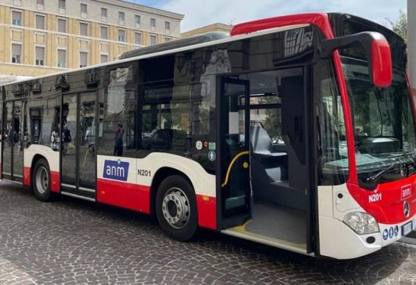 New ANM bus in Naples