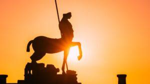Statua del Centauro a Pompei