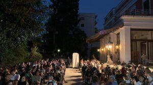Palco in Villa Pignatelli
