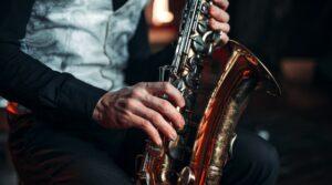 ملصق Esca Jazz في Irpinia وفي وديان Taurasi مع حفلات موسيقية مجانية