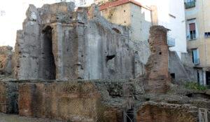 Archäologisches Gebiet von Carminiello ai Mannesi in Neapel