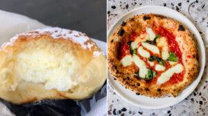 Fiocco di neve e pizza