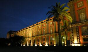 Museo di Capodimonte di sera
