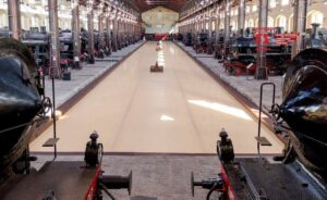 Treni al Museo Nazionale Ferroviario di Pietrarsa
