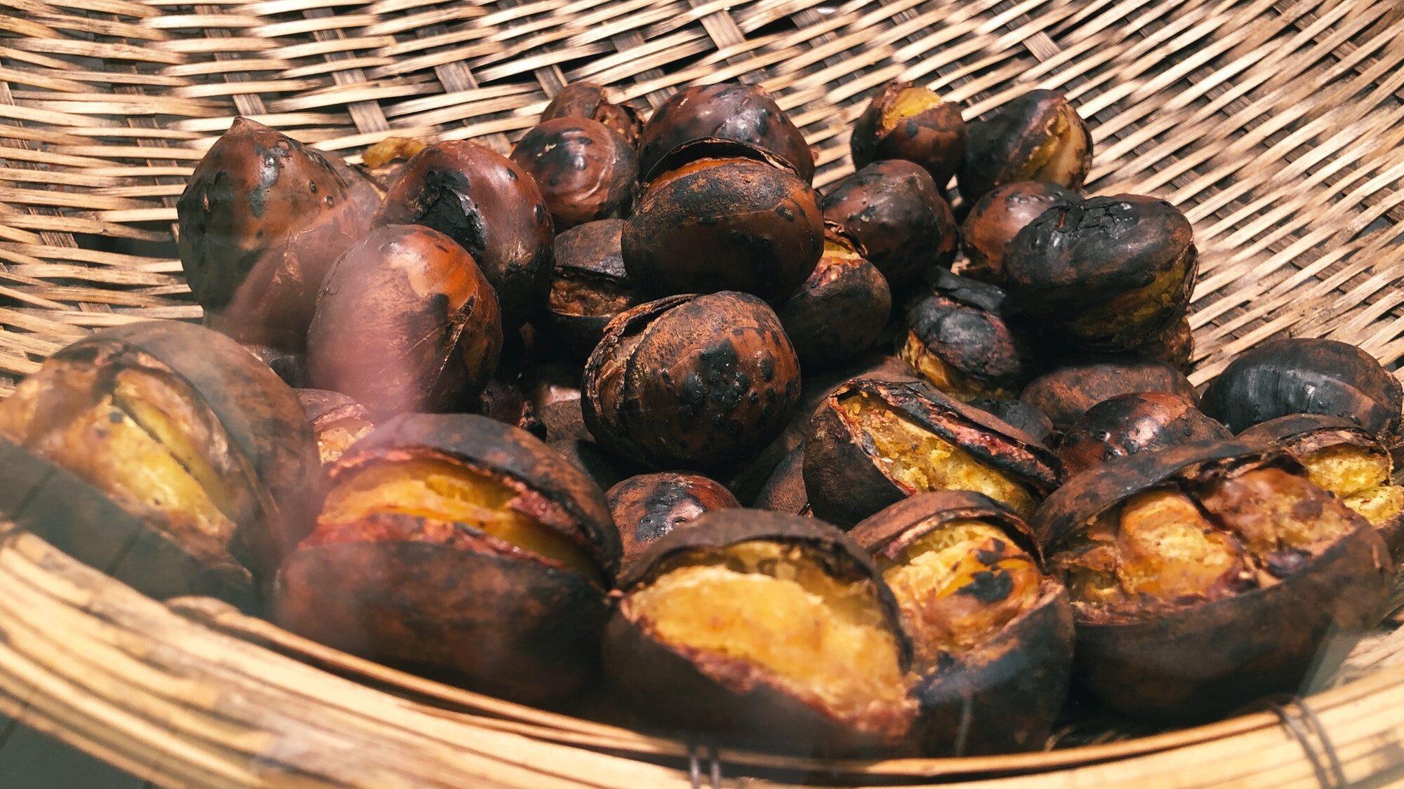 locandina di Festa della castagna a Sant'Eustachio di Montoro: tornano i piatti tipici monteresi